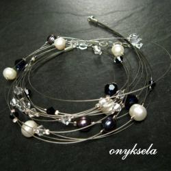 intrygujący,mineralny - Naszyjniki - Biżuteria