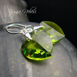 kolczyki z kryształami swarovskiego - Kolczyki - Biżuteria