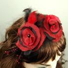 Do włosów flamenco,kwiaty we włosach,nowość,cudo,elegancja