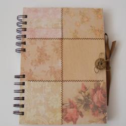 notes,guzik,romantyczny - Notesy - Akcesoria