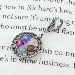 Zawieszka charms z kryształkami Swarovskiego - Charms - Biżuteria