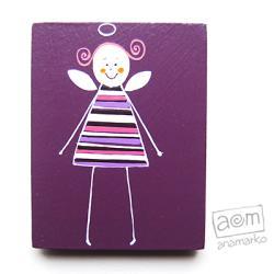 magnes,na lodówkę,anioł,aniołek,magnesik - Magnesy na lodówkę - Wyposażenie wnętrz