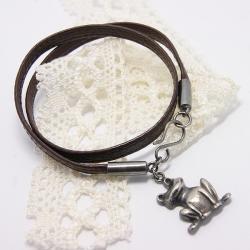 Oryginalna bransoletka z żabą - Bransoletki - Biżuteria