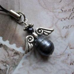 anioł,aniołek,brelok,extrano - Breloki - Biżuteria