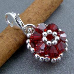 Swarovski,charm,pleciona,misterna - Charms - Biżuteria