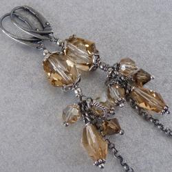Kryształów lśnienie - Kolczyki - Biżuteria