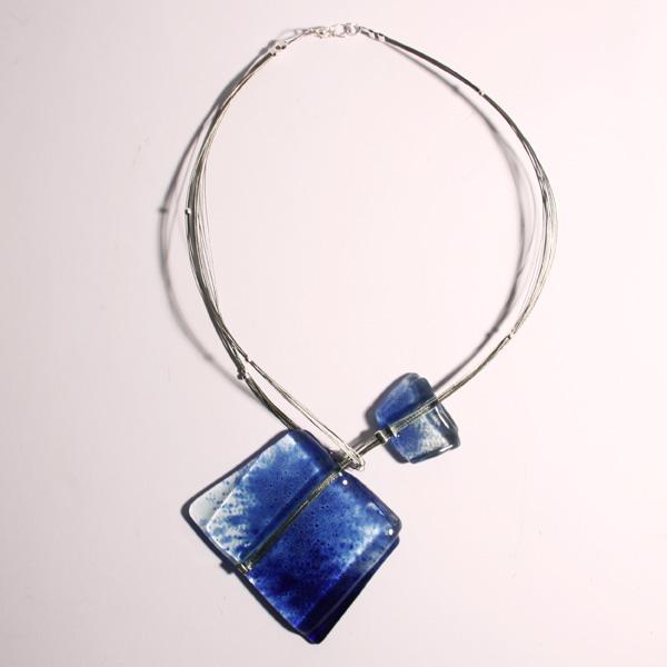 e999895df71044 naszyjnik,wisior,design,szkło,oryginalny - Naszyjniki - Biżuteria w ...