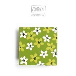magnes na lodówkę,anamarko,kwiaty,kwiatuszki - Magnesy na lodówkę - Wyposażenie wnętrz