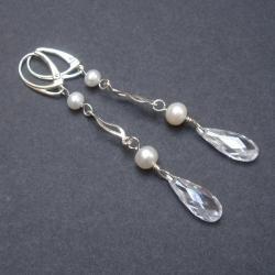 cyrkonie,kolczyki, - Kolczyki - Biżuteria