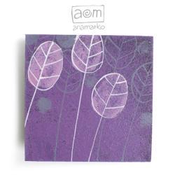 magnes na lodówkę,anamarko,drzewo,drzewko - Magnesy na lodówkę - Wyposażenie wnętrz