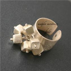 srebro,pierścionek,fado - Pierścionki - Biżuteria