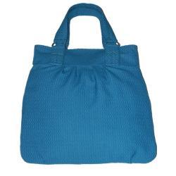 torebka w kolorze morskim,klasyczna,elegancka - Na ramię - Torebki