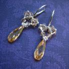 Kolczyki kolczyki ze srebra,cyrkonii,Swarovskiego