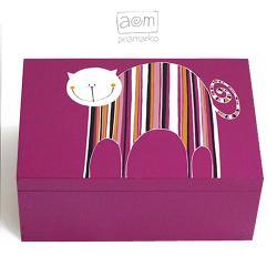 pudełko,szkatułka,łezki,anamarko - Pudełka - Wyposażenie wnętrz