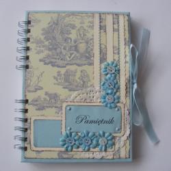 notes,pamiętnik,ręcznie robiony - Notesy - Akcesoria