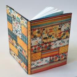 kalendarz,notes,patchwork,kot - Notesy - Akcesoria