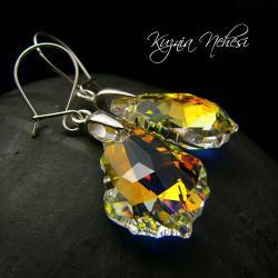 kolczyki barogue,z kryształem swarovskiego - Kolczyki - Biżuteria