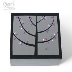 pudełko,szkatułka,drzewo,drzewko,anamarko - Pudełka - Wyposażenie wnętrz