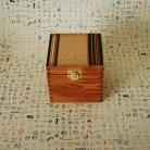 Pudełka pudełko retro,na herbatę,starzone,patynowane