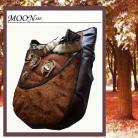 Na ramię torba,na ramię,wełna,futro,jesień,brąz,wełna,