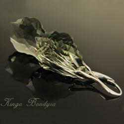 kolczyki,srebro,swarovski,lśniące,baroque - Kolczyki - Biżuteria