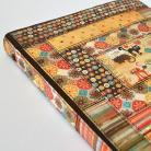 Notesy kalendarz 2012,notes,patchwork,kot