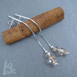 Swarovski,delikatne,wiszące - Kolczyki - Biżuteria