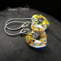 kolczyki z kryształów swarovskiego,kobiece - Kolczyki - Biżuteria