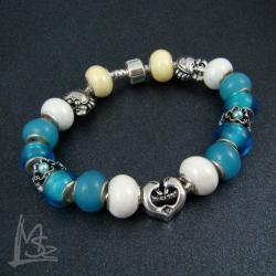 morze,plarza,modułowa,Pandora - Bransoletki - Biżuteria