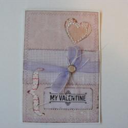 kartka,walentynki,romantyczna,na waelntynki - Kartki okolicznościowe - Akcesoria