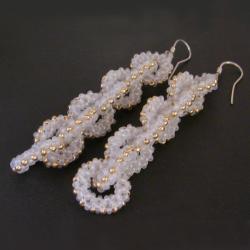 beading,łańcuch,łańcuszek - Kolczyki - Biżuteria