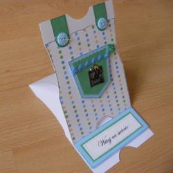 życzenia,chłopiec,narodziny,kartka - Kartki okolicznościowe - Akcesoria