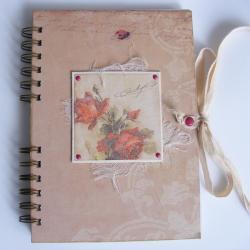 notes,zapiski,romantyczny,róża - Notesy - Akcesoria