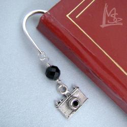 aparat,fotografia,zakładka - Zakładki do książek - Akcesoria