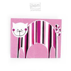 anamarko,magnes,na lodówkę,kot,kotek - Magnesy na lodówkę - Wyposażenie wnętrz