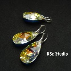 komplet z kryształami Swarovski - Komplety - Biżuteria