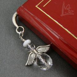 zakładka,aniołek,delikatna - Zakładki do książek - Akcesoria